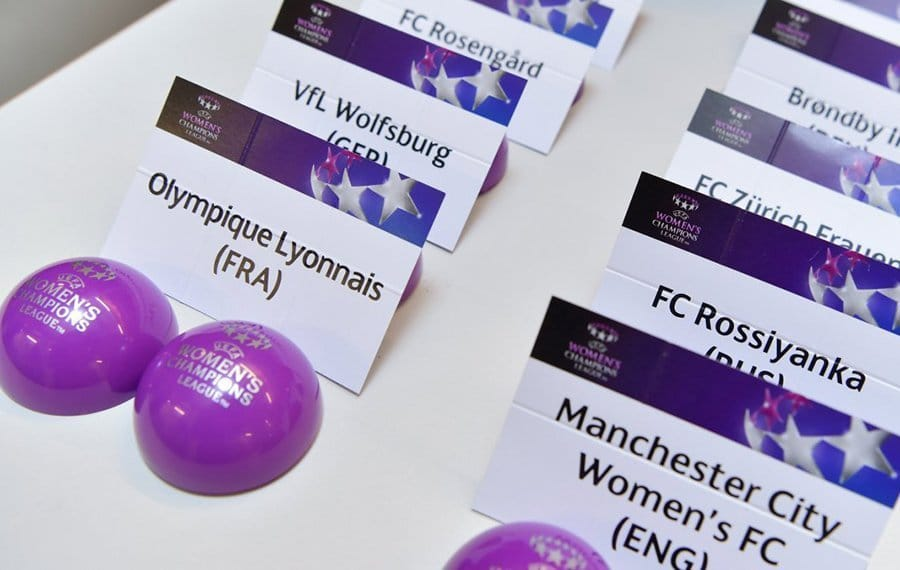 Sorteo de la UEFA Women´s Champions League 17-18