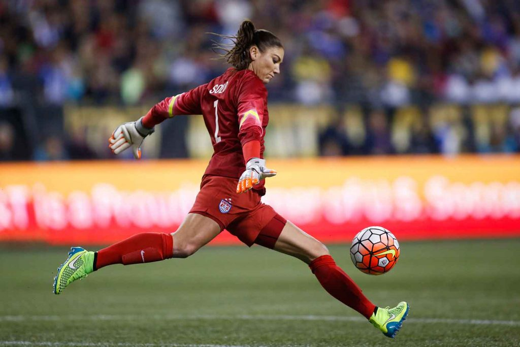Hope solo persigue su sueño americano